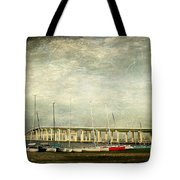 Biloxi Bay Bridge Tote Bag