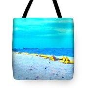 Biloxi Beach Tote Bag by Scott Crump