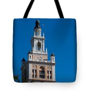 Biltmore Hotel Tower And Moon Tote Bag