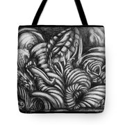 Biomorphic Tote Bag