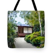 Birch Trees At The Teahouse Tote Bag