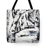 Birch Trees By The Brook Tote Bag