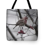 Bird And Berry 3 Tote Bag