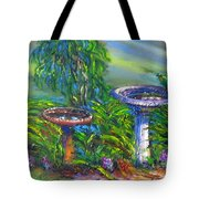Bird Baths Tote Bag