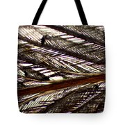 Bird Feather Tote Bag