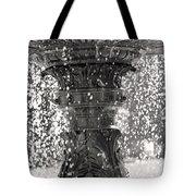 Bird Fountain Of Tears Tote Bag