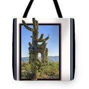Bird On Cactus Tote Bag