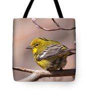 Bird - Pine Warbler - Detail Tote Bag