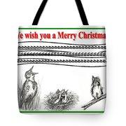 Bird Song For Christmas Tote Bag