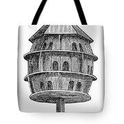 Birdhouse, 19th Century Tote Bag