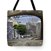 Bird's Eye View Of Dubrovnik Tote Bag