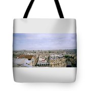 Panoramic Paris Tote Bag