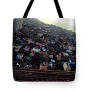 Birds Eye View Of The Pasay City Tote Bag