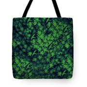 Birds In Green Tote Bag