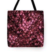 Birds In Redviolet Tote Bag