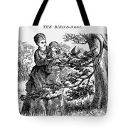 Birds Nest, 1873 Tote Bag