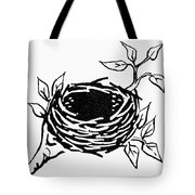 Birds Nest Tote Bag