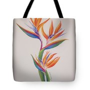 Birds Of Paradise I Tote Bag