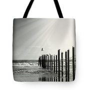 Birds On Outer Banks Tote Bag