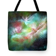 Birth Of Angels Tote Bag