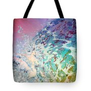 Birth Of Aphrodite From The Sea Foam Tote Bag