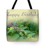 Birthday Greeting Card - American Beautyberry Shrub Tote Bag