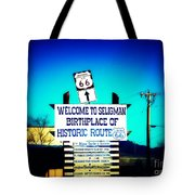 Birthplace Of Route 66 Tote Bag