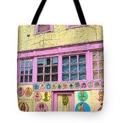 Colorful Building Bisbee Az Tote Bag