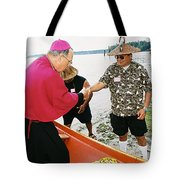 Bishop Arrives Tote Bag