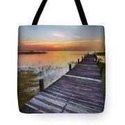 Bit Of Heaven Tote Bag by Debra and Dave Vanderlaan