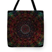 Bizzmuzz Oval Mandala Tote Bag