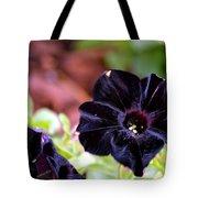 Black And Velvety Tote Bag