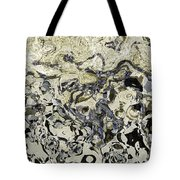 Black And White Abstract IIi Tote Bag