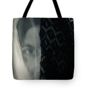 Black And White And Grey Tote Bag