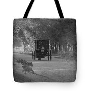 Black And White Buggy Tote Bag
