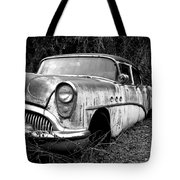 Black And White Buick Tote Bag