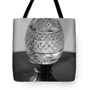 Black And White Egg Tote Bag