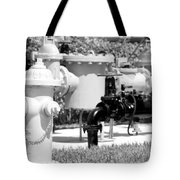 Black And White Mechanics Tote Bag