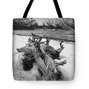 Black And White Version Of Kathleen Tote Bag