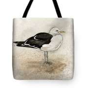 Black Backed Gull  Tote Bag