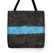Black Blue Lawn Tote Bag