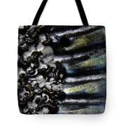 Black Clay With Metallic Paint Pin 1 Tote Bag