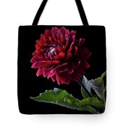Black Dahlia Tote Bag