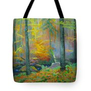 Black Forest Stream Tote Bag