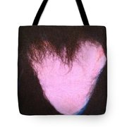 bLAck heART Tote Bag