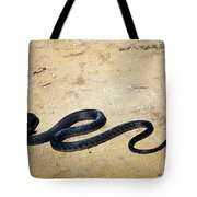 Black Mamba Tote Bag by Elizabeth Kingsley