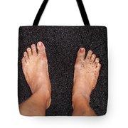 Black On Black Tote Bag