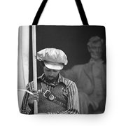 Black Panthers At The Lincoln Memorial - 1970 Tote Bag