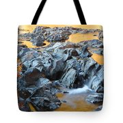 Black River Reflections At Johnsons Shut Ins State Park Vi Tote Bag