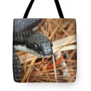 Black Snake Tote Bag